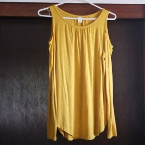 Blusa open shoulders old navy